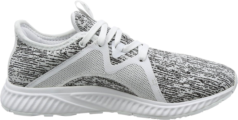adidas Women's Edge Lux 2 Running Shoe White Ftwr White Ftwr White Silver Met