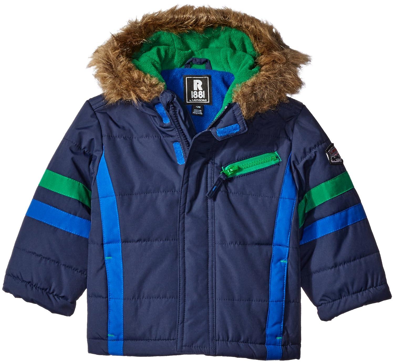 Rothschild Baby Boys' Sleeve Stripe Parka 06373