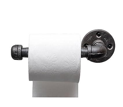 Amazoncom Diy Cartel Industrial Pipe Toilet Paper Tissue Holder