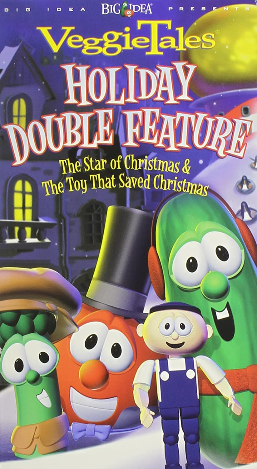 Amazon.com: VeggieTales Holiday Double Feature - The Toy That ...