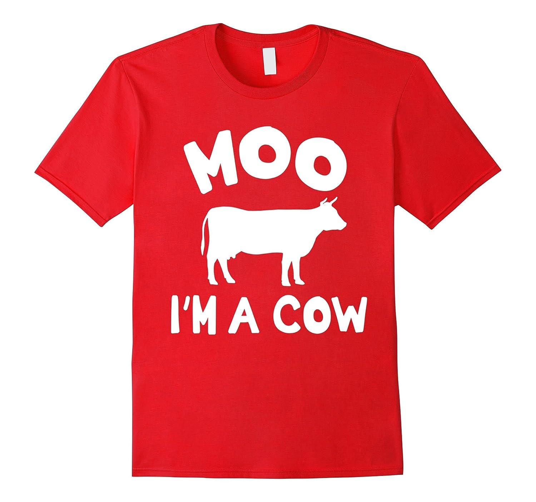 3cf93c2b Moo - I'm A Cow Funny Animals Pet Halloween Pun T-shirts-ANZ ⋆ Anztshirt