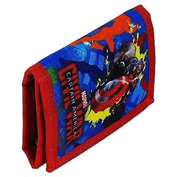 revendeur c4cab 87421 Marvel Avengers Captain America Civil War Portefeuille Porte ...