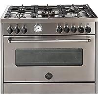 Bertazzoni 90x60 Gas Cooker, Electric Oven, MAS905MFELXE, 1 Year Warranty