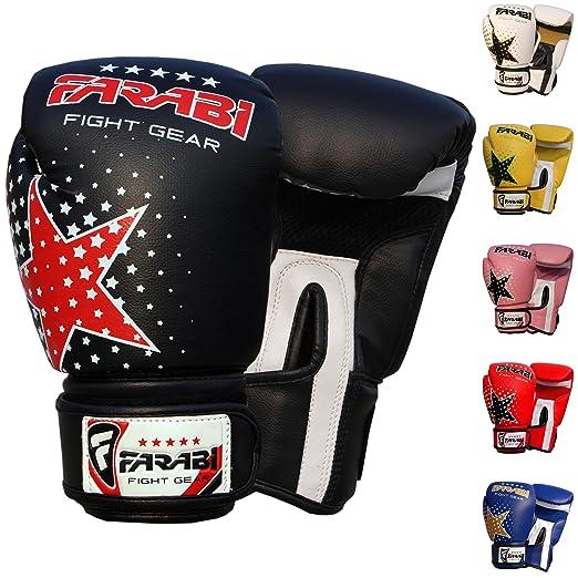 4 opinioni per Farabi Junior Starlux kids Boxing MMA Muay Thai Kickboxing sacco per allenamenti