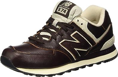 new balance uomo 574 marrone
