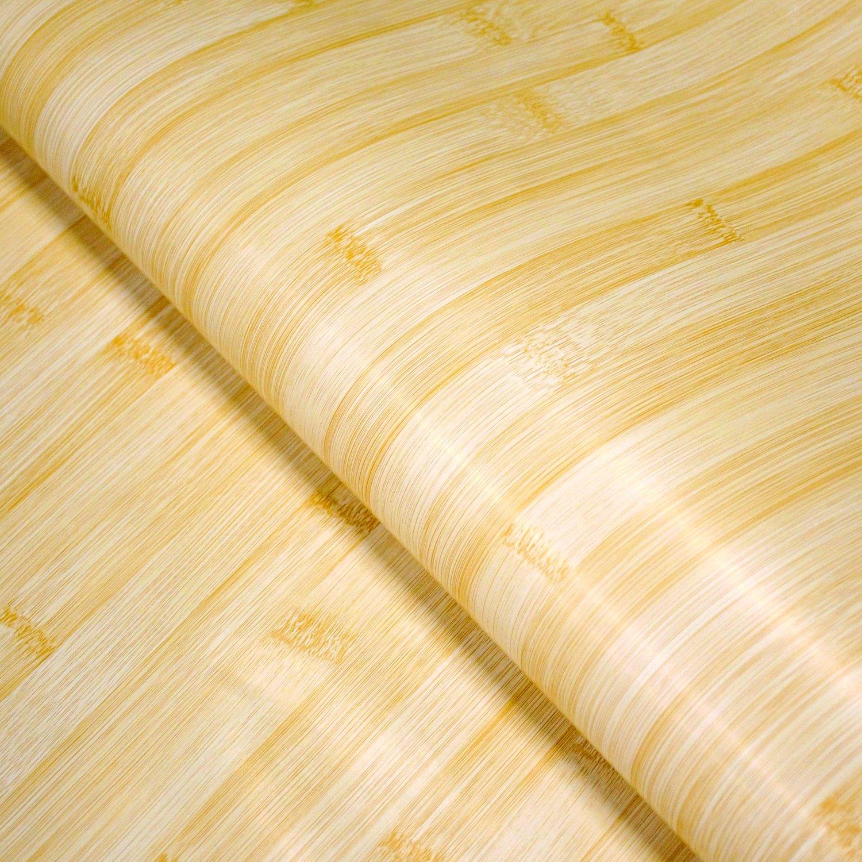 Amazon.com: Bamboo Wood Grain Contact Paper Roll | Self Adhesive ...