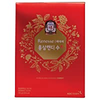 KGC Cheong Kwan Jang [Renesse Korean Red Ginseng Extract] Mint Hard Candy (83 Count...