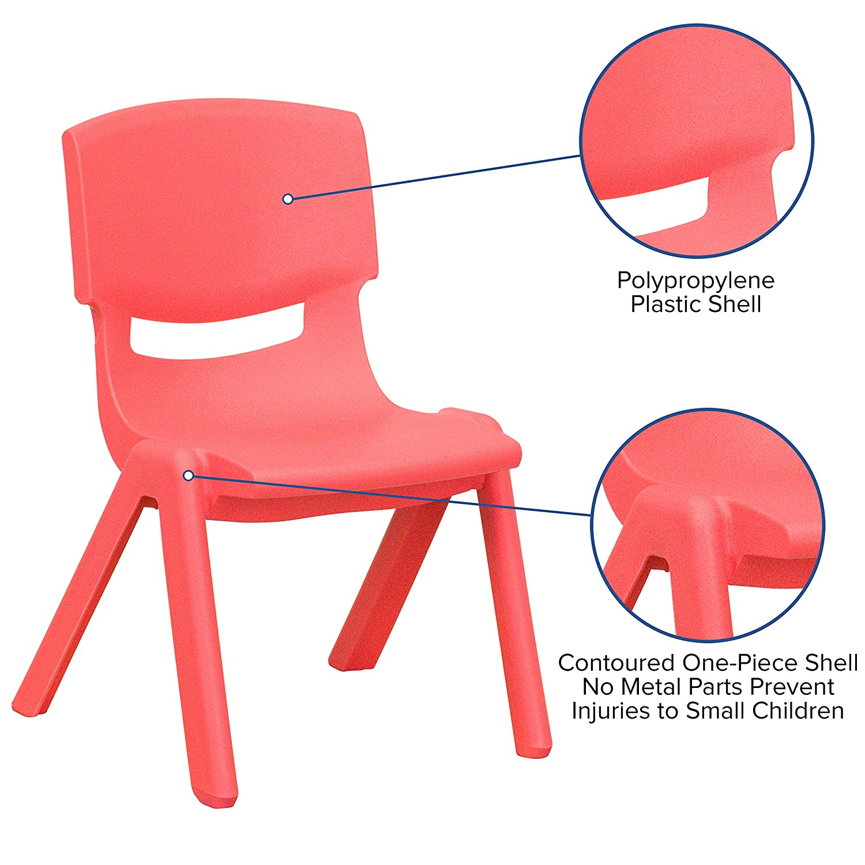 Peachy 10 Preschool Kindergarten Red Plastic Stack Chair Yu Ycx 003 Red Gg Dailytribune Chair Design For Home Dailytribuneorg
