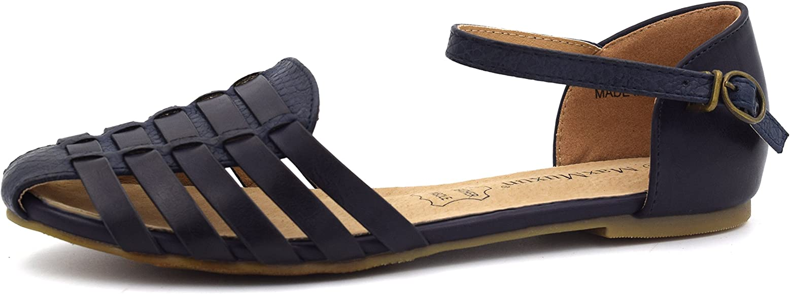 MaxMuxun Womens Roman Ankle Strap Cage