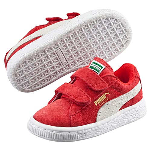 22d439fc46aa Puma Unisex Suede 2 Straps Inf Walking Baby Trainers  Amazon.co.uk ...
