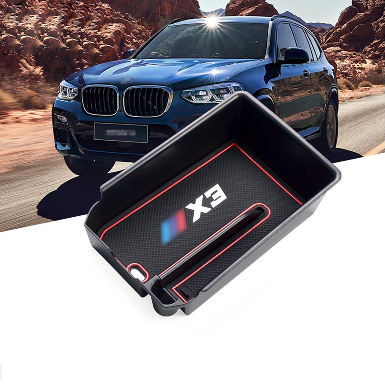 RUIYA Central Console Box bracciolo su misura per BMW X3 G01 2018, vano portaoggetti Console Storage Box inserto vassoio, accessorio auto