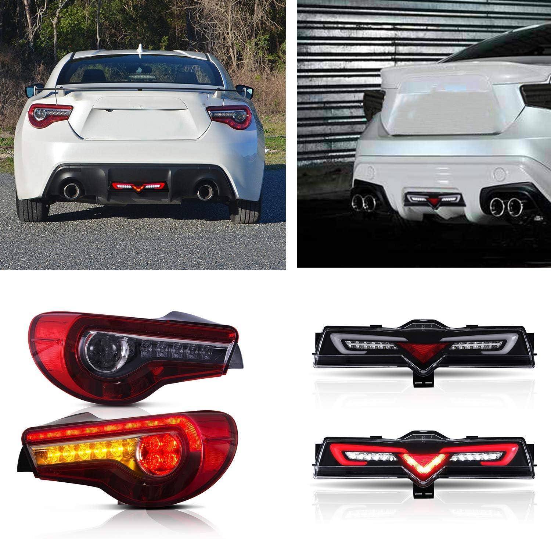 VLAND Phares Arri/ère LED pour GT86 FT86 BRZ 2012 2013 2015 2014 2016 2017 2018 2019 Feux antibrouillard R/étro-/éclairage