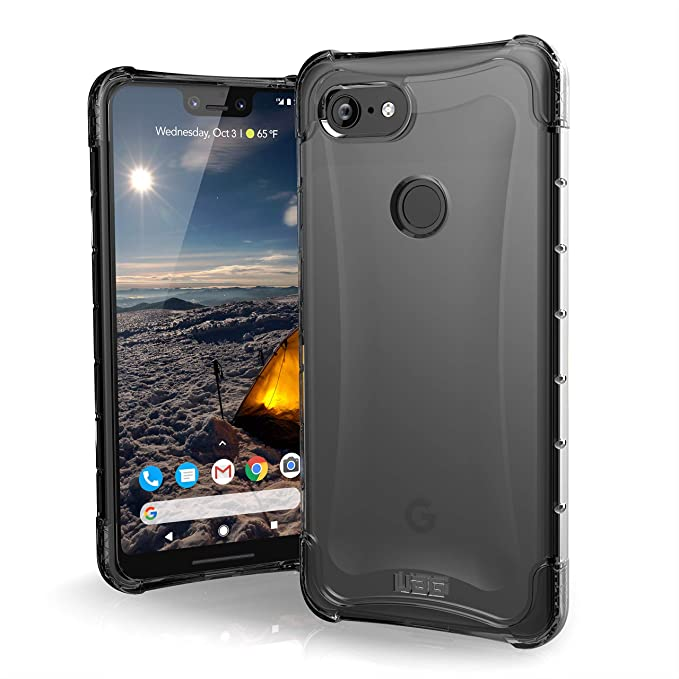 timeless design 475fd 3c28b URBAN ARMOR GEAR UAG Google Pixel 3 XL [6.3-inch Screen] Plyo Feather-Light  Rugged [Ice] Military Drop Tested Case