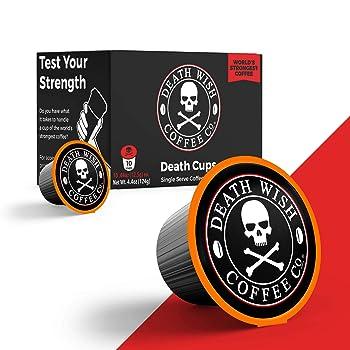 Death Wish Coffee Dark Roast K Cup