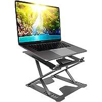 2021 Laptop Stand – Lightweight & Durable Metal Design - Aluminum Foldable Portable Computer Stand - Ergonomic Laptop…