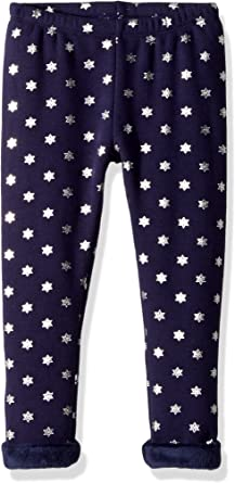 Gymboree 5 6 7 8 10 12 Warm /& Cozy Fuzzy Fleece-Lined Leggings Floral Star NWT