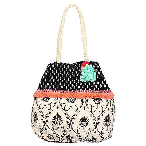 3658eee39 pick pocket Women's Canvas Ethnic Jholi(Multicolour): Amazon.in: Shoes &  Handbags