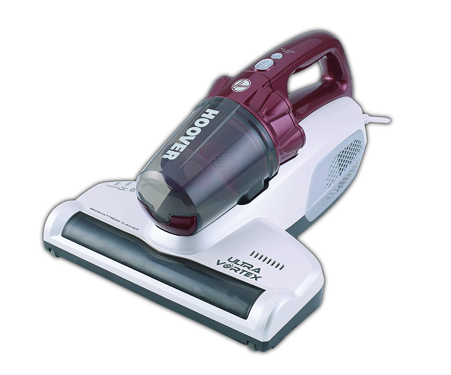 Hoover MBC-500UV UltraMATT Corded Handheld Mattress Vacuum Cleaner, 20 W, Red/White Hoover Ltd 39300209