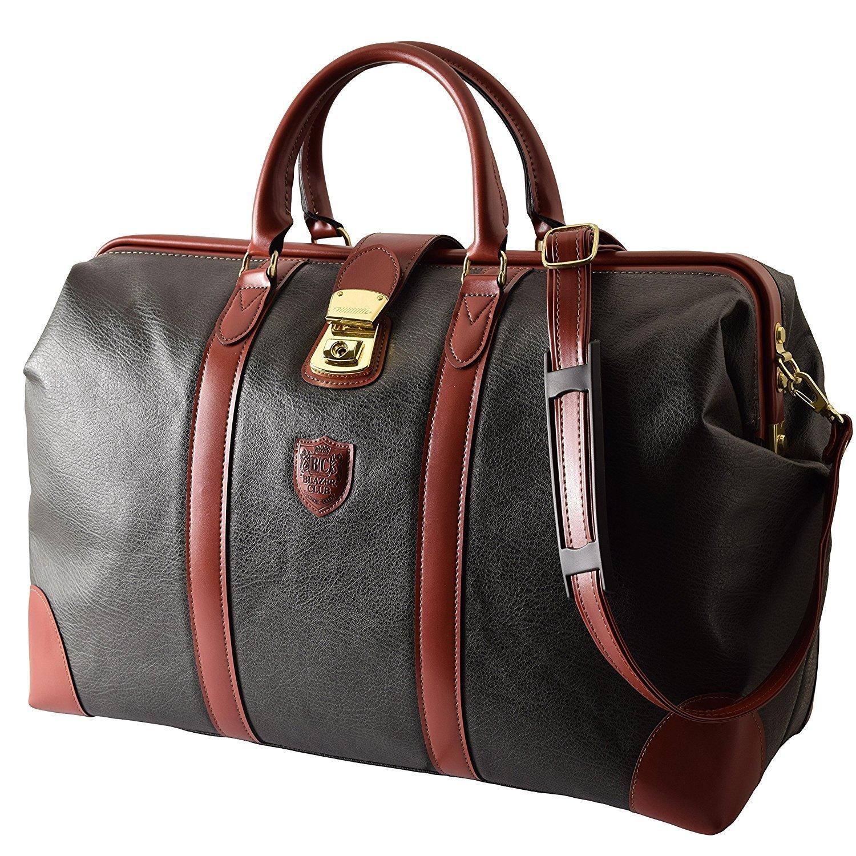 ブレザークラブ 2WAYダレスボストンバッグ46cm 豊岡製 旅行鞄 #10358  ブラック B07CB7RDC2