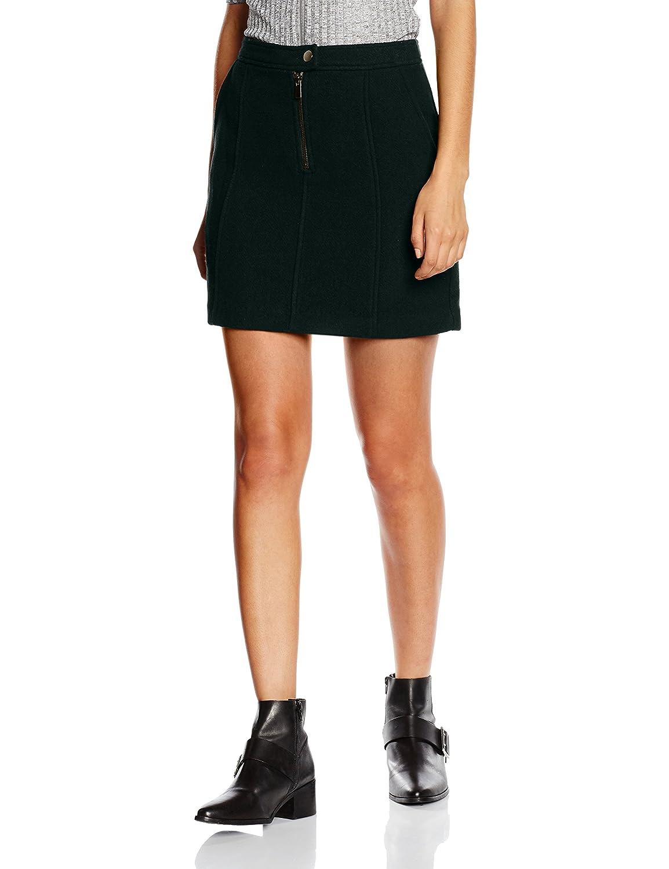 TALLA ES 34 (UK 6). New Look Wool Zip Falda para Mujer