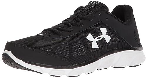 brand new c7326 09c18 Under Armour Men s Micro G Assert 7 Running Shoe, Black (001) White