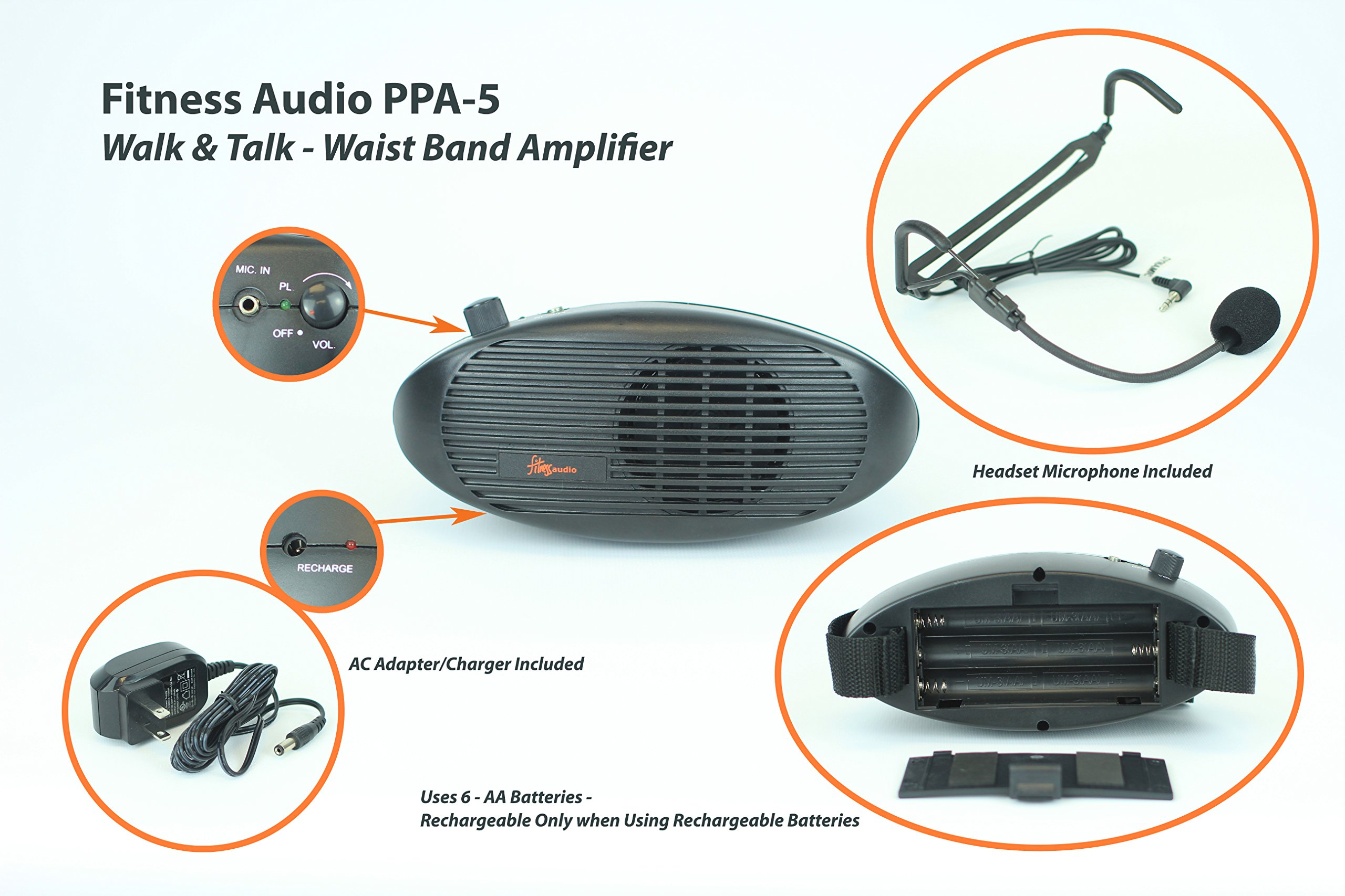 Fitness Audio PPA-5