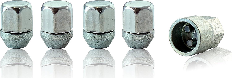 HEYNER Germany Nisan Micra Models 2010 To 2020 StillBull Locking Wheel Nuts Removal Key M12x1.25 Set 4 Locks Alloys Antitheft Protection Bolts RA1