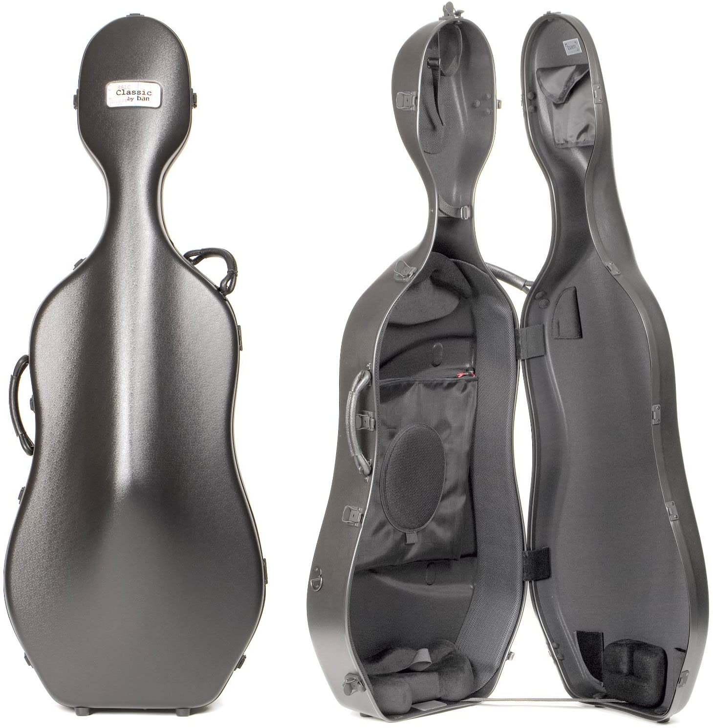 Bam France 1001S Classic Black 4/4 Cello Case