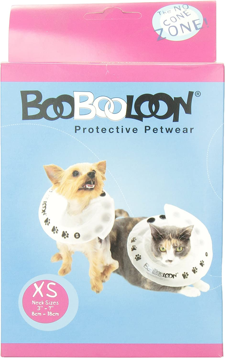 Amazon Com Boobooloon Inflatable Pet Recovery Collar 1 Extra Small Size Inflatable Recovery Collar For Cat Pet Supplies