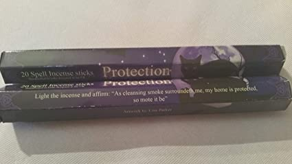 Amazon com: 6 Packs Of Protection Spell Incense Sticks By