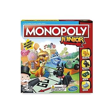 Monopoly Juego De Mesa Junior En Ingles Amazon Es Juguetes Y Juegos