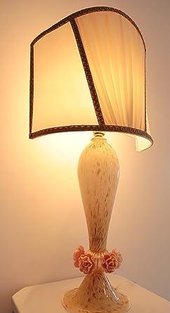 Lámpara de mesa, hecha a mano en cristal de Murano/table ...