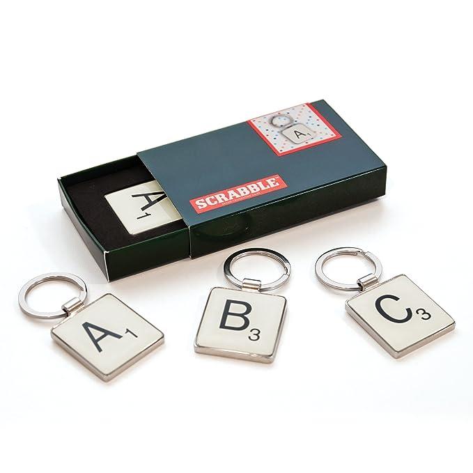 Scrabble - Llavero, diseño de ficha de letra P: Amazon.es: Hogar