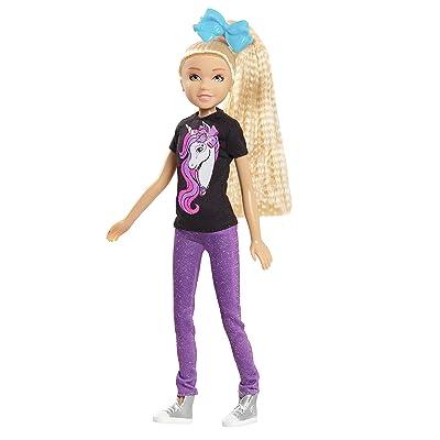 JoJo Siwa Glitter Glam Fashion Doll: Toys & Games