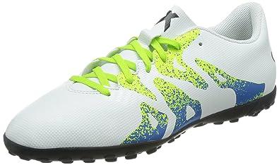 e830f00a2 adidas X 15.4 TF, Men's Football Boots, White (Ftwr White/Semi Solar