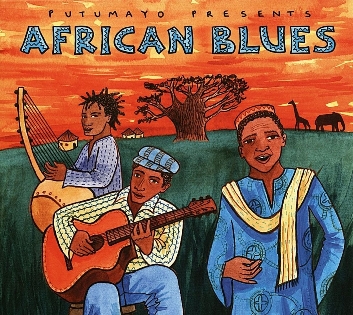 CD : PUTUMAYO PRESENTS - African Blues (CD)