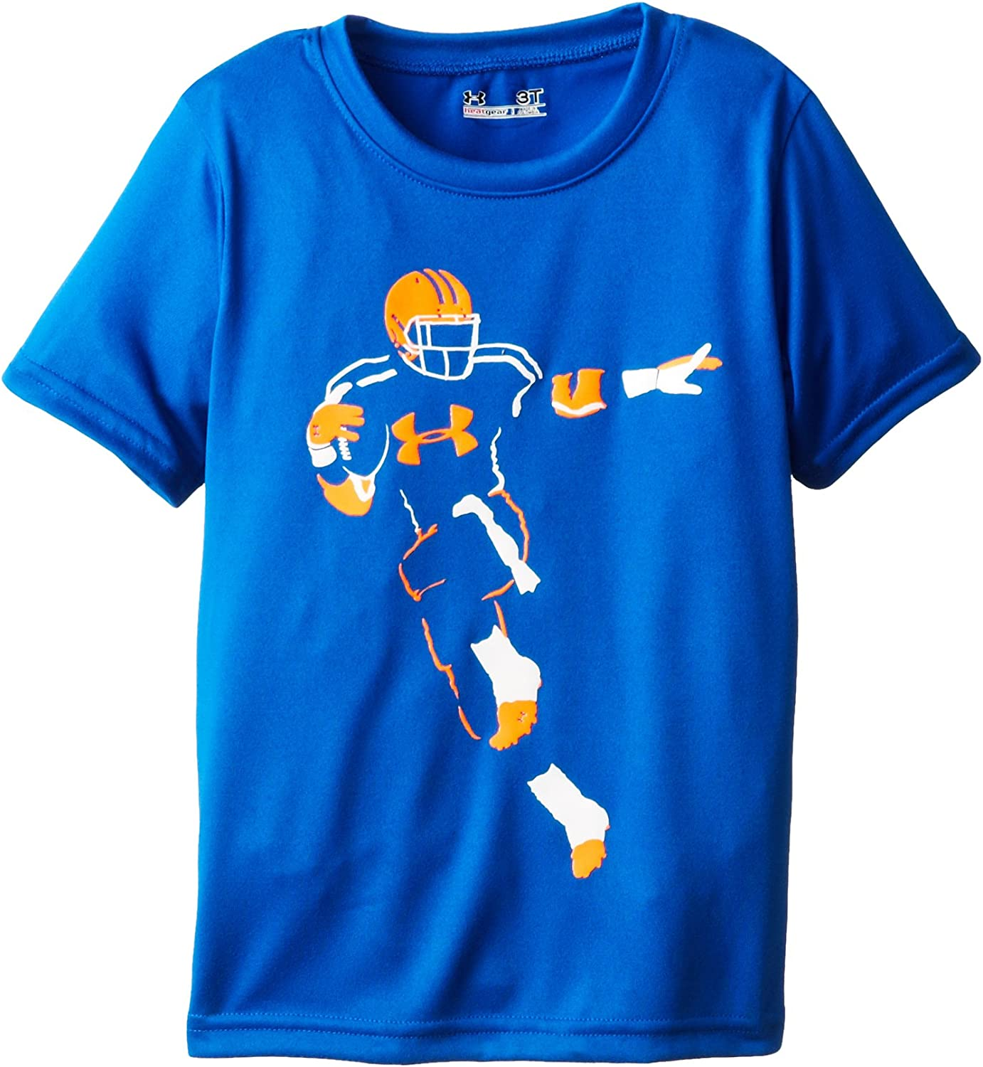 Under Armour Baby and Boys Full Back Neon Short Sleeve Tee