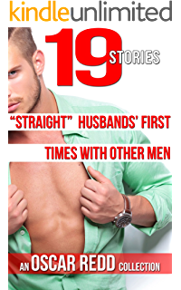"""husbands take other men while their wives watch a collection """"straight"""" husbands first times other men 19 story anthology while """""""