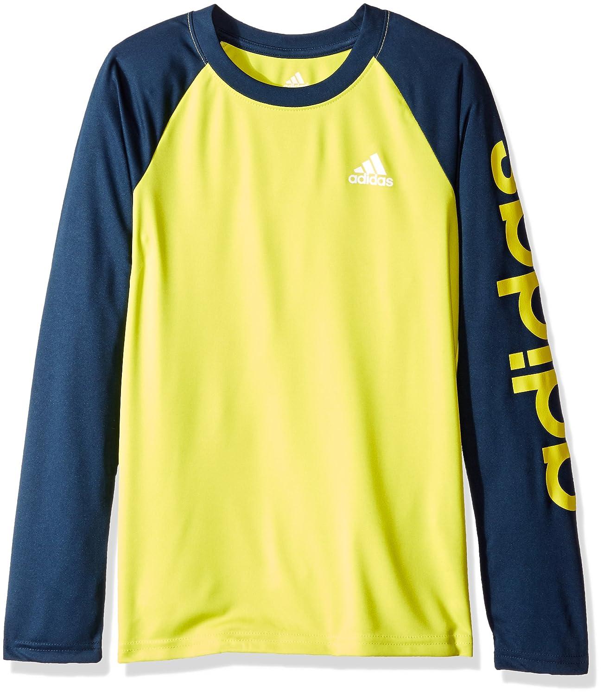 adidas Boys' Climalite Long Sleeve Tee BABANGN9