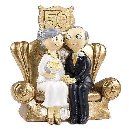 Mopec Pop Fun Figura Per Torta Di Nozze D Oro 50