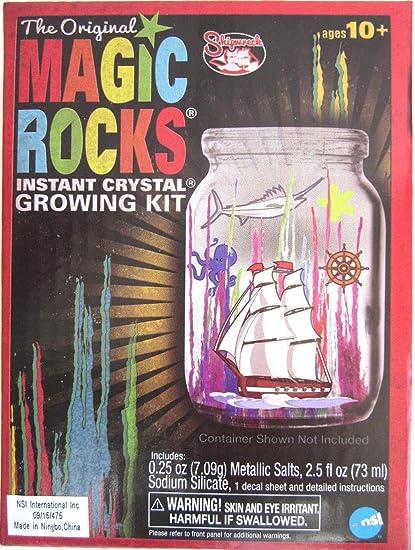 SHARK THE ORIGINAL MAGIC ROCKS INSTANT CRYSTAL GROWING KIT