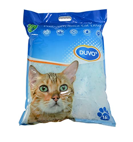 DUVO Gel de sílice Premium arenero para Gatos