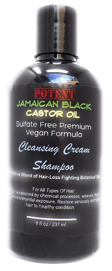 Limpieza Cepillo Para desenredar, crema Champú potente Jamaica Negro Castor Oil Champú para el crecimiento