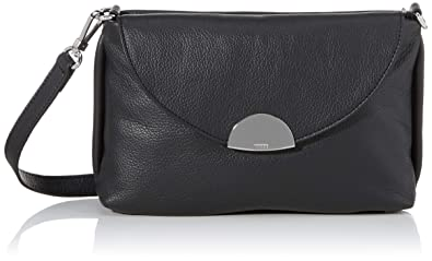 best shoes free delivery so cheap BREE Collection Damen Pippa 1, Black, Cross Shoulder S ...