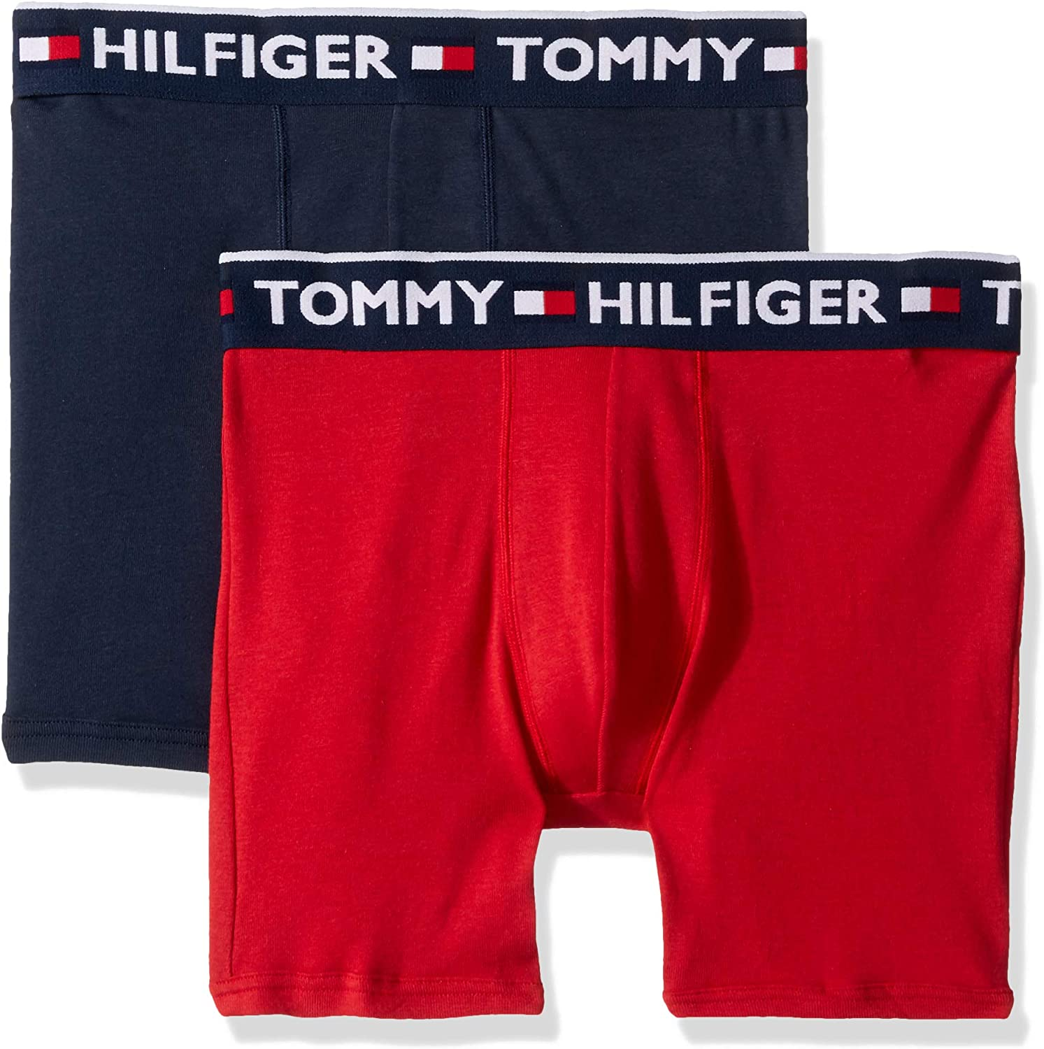 NEW Tommy Hilfiger Mens Classic Boxer Brief Medium Red