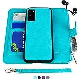 MODOS LOGICOS Samsung Galaxy S20 Case, [Detachable Wallet Folio][2 in 1][Zipper Cash Storage][Up to 14 Card Slots 1…