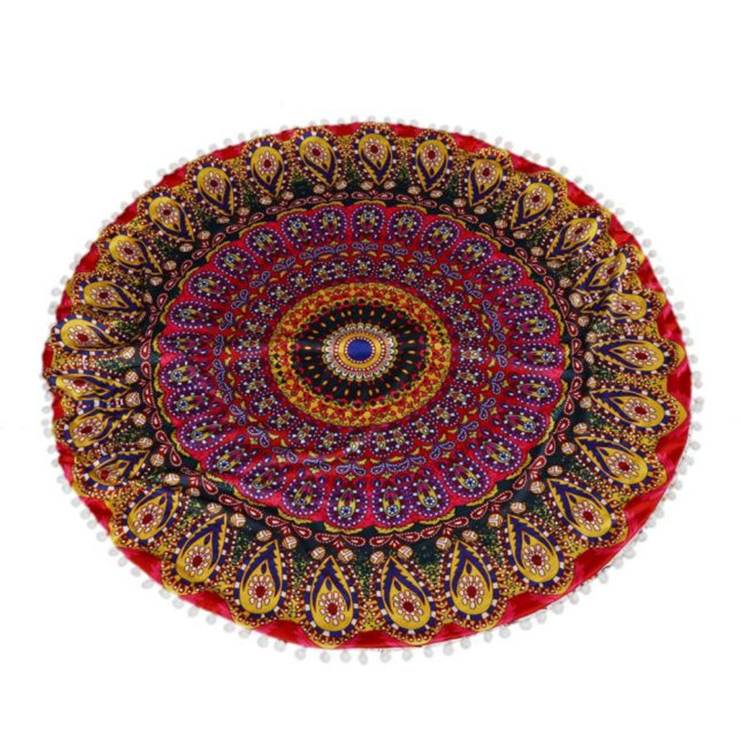 Floor Pillows Round Bohemian Meditation Beautiful Are Sold With Or Without The Filler. Style India