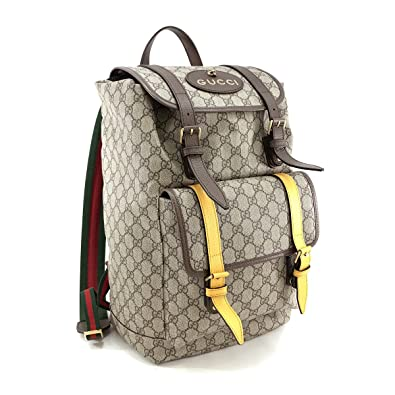 outlet store 98dea fd66f Amazon | グッチ リュックサック GUCCI バックパック ソフト GG ...