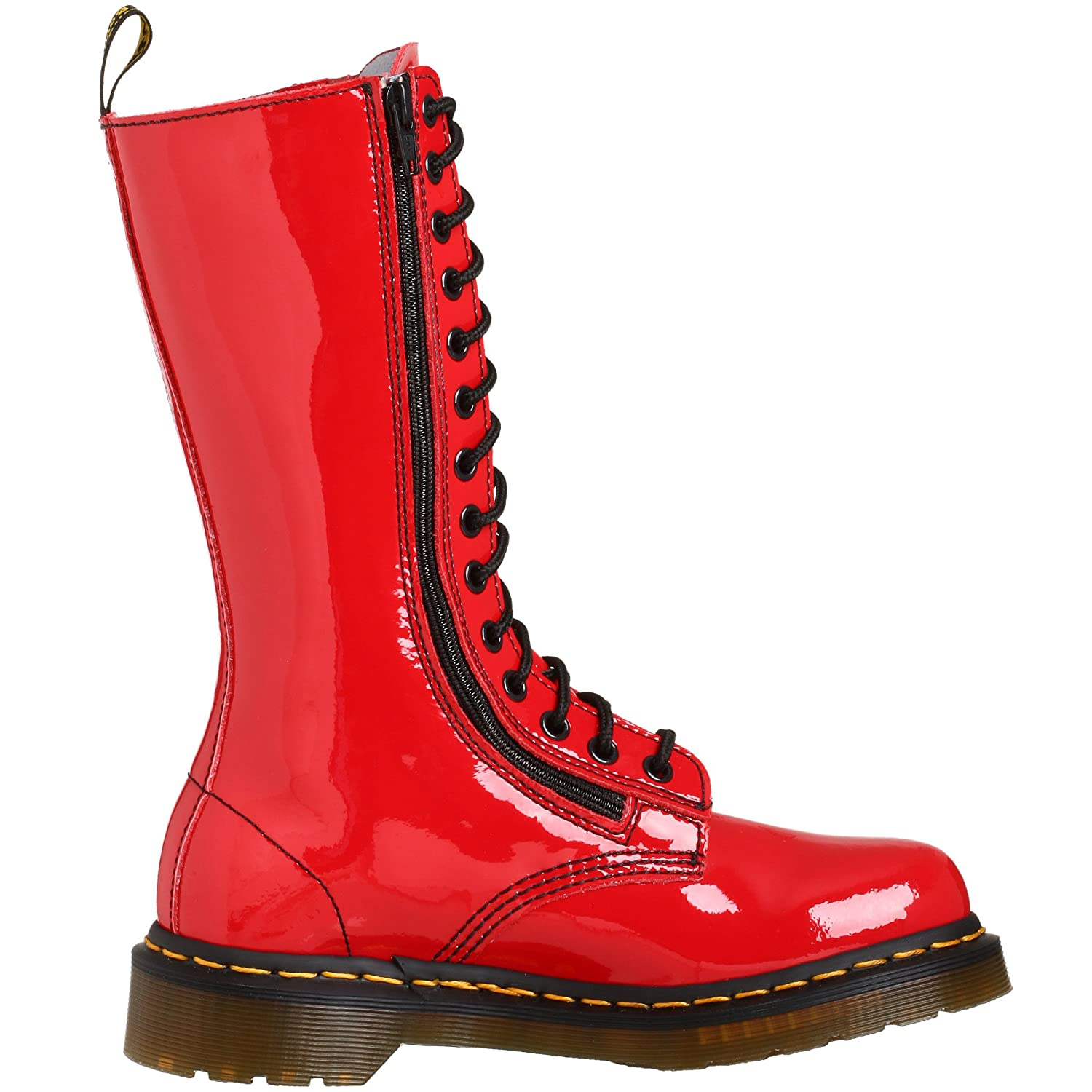 9733 LamperBoots W Rouge DrMartens Patent Mixte Adulte n0Nwm8yOPv