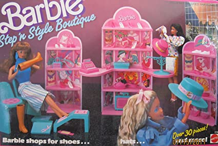 NEW Barbie Babysitter Doll Pink Peep Toe Sneakers Boots Shoes ADD ON ITEM